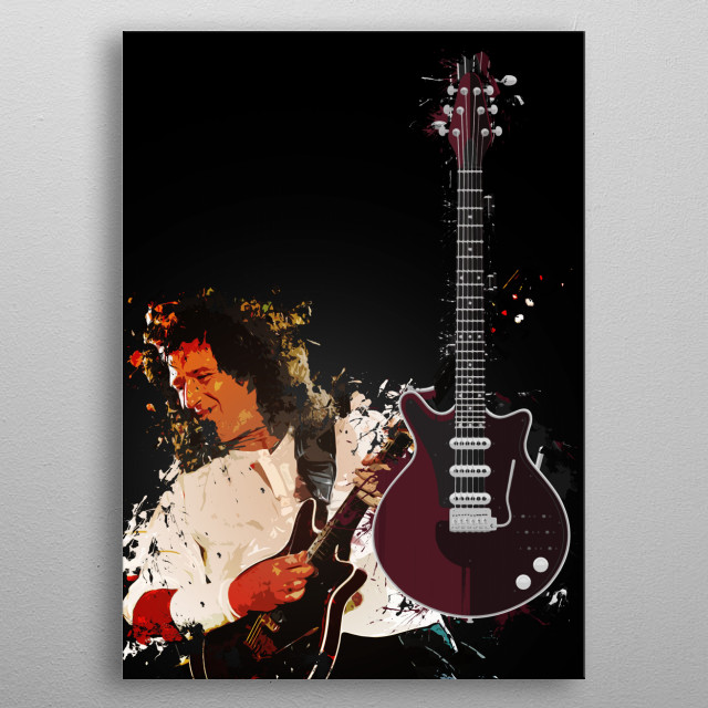 Red Special metal poster