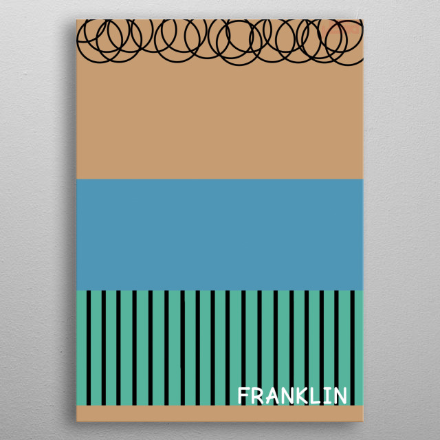 High-quality metal print from amazing Minimal Peanuts collection will bring unique style to your space and will show off your personality. metal poster