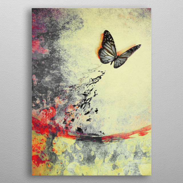 High-quality metal print from amazing Magic collection will bring unique style to your space and will show off your personality. metal poster