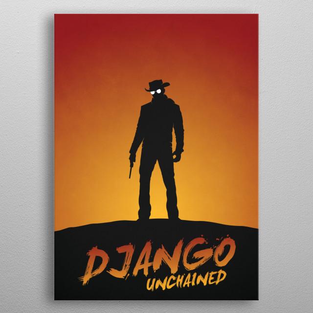 Django metal poster