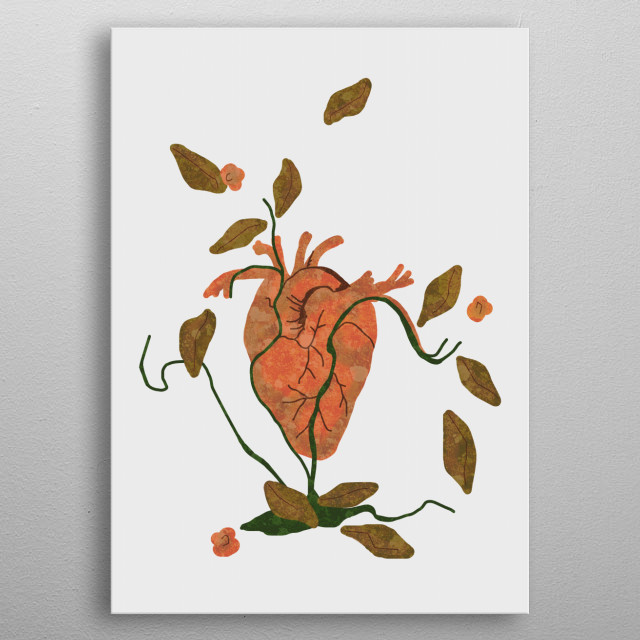 Find My Heart metal poster