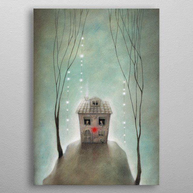 High-quality metal print from amazing All You Need Is Love collection will bring unique style to your space and will show off your personality. metal poster
