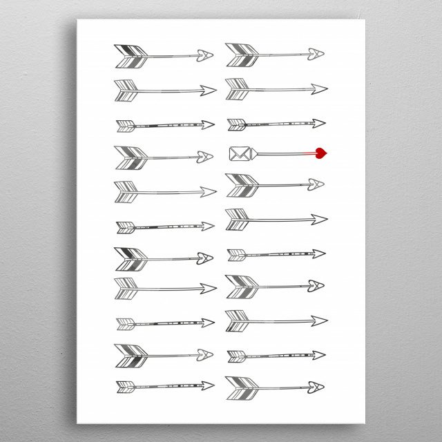 High-quality metal print from amazing Pattern collection will bring unique style to your space and will show off your personality. metal poster