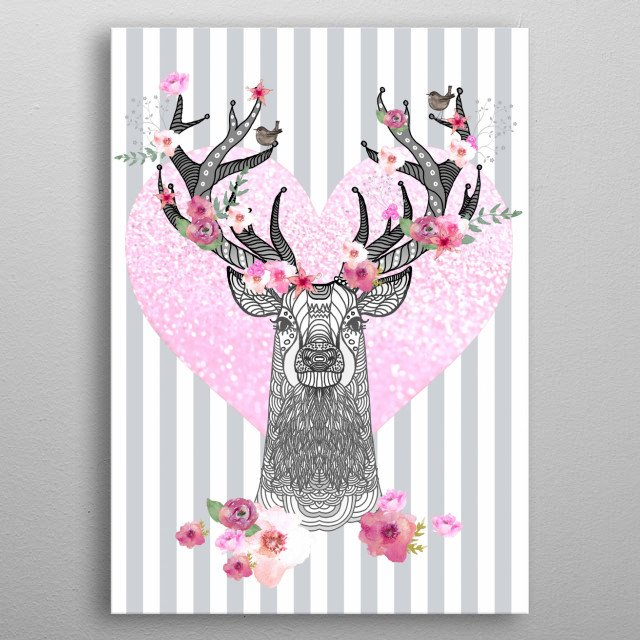 High-quality metal print from amazing Animals collection will bring unique style to your space and will show off your personality. metal poster