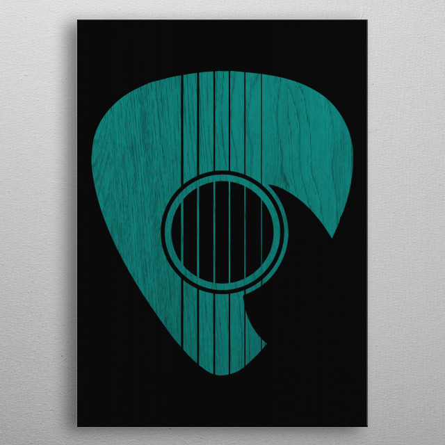 High-quality metal print from amazing Strum collection will bring unique style to your space and will show off your personality. metal poster