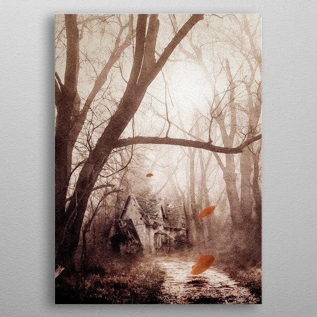 Secret place metal poster