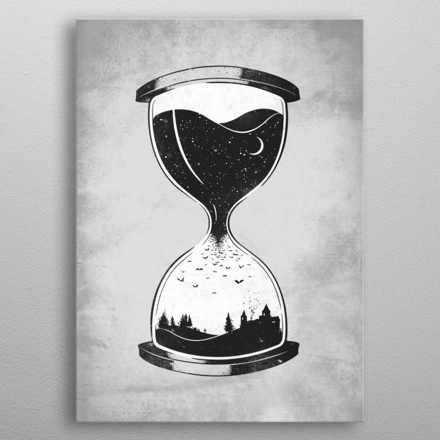 As Night Falls metal poster