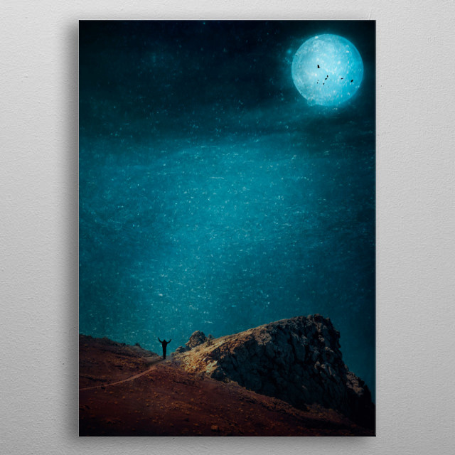 This marvelous metal poster designed by dirkwuestenhagen to add authenticity to your place. Display your passion to the whole world. metal poster