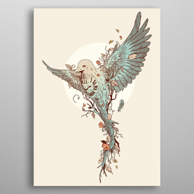 Fascinating  metal poster designed with love by normanduenas. Decorate your space with this design & find daily inspiration in it. metal poster