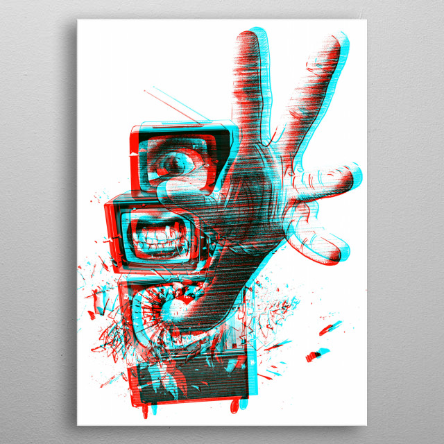 High-quality metal print from amazing Retro collection will bring unique style to your space and will show off your personality. metal poster