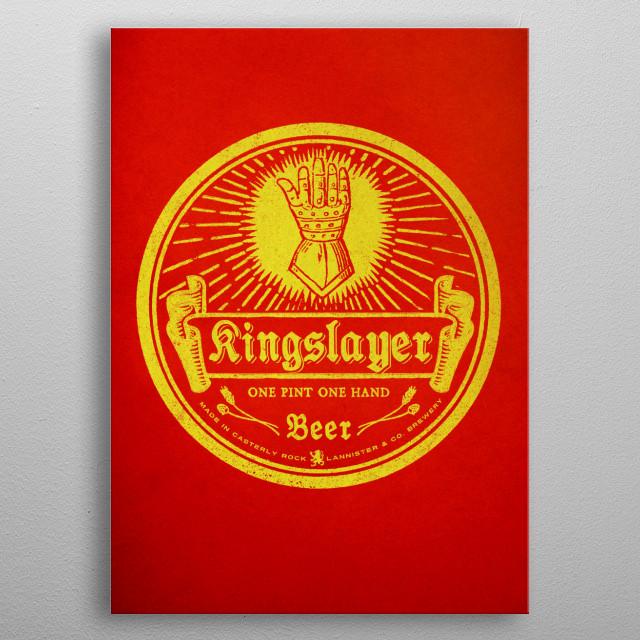 Kinglslayers metal poster