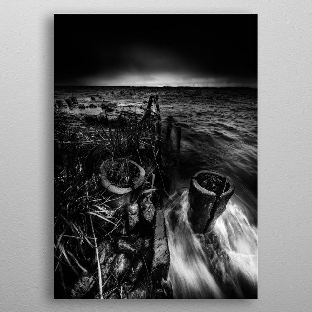 The tide metal poster
