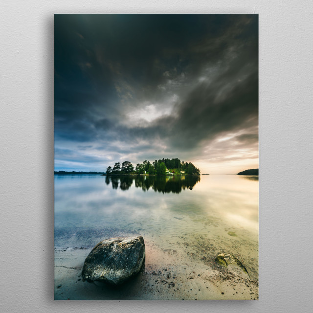 Serenity by dawn 2 metal poster