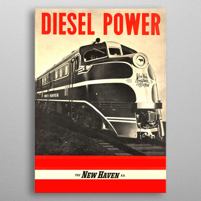 Diesel Power metal poster