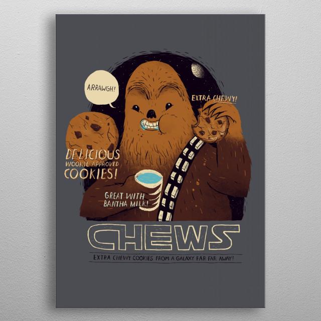 chews metal poster