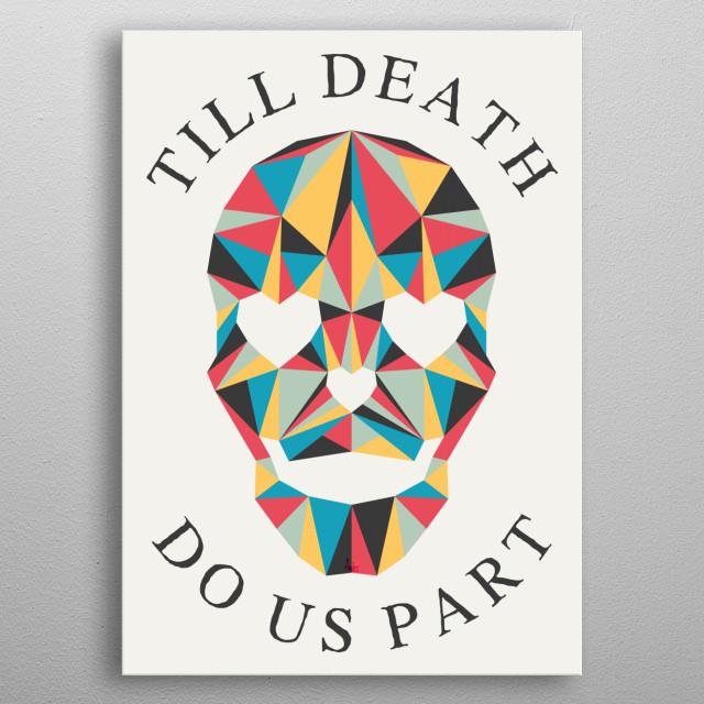 Till Death metal poster