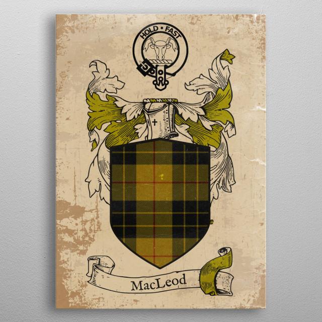 Clan MacLeod metal poster