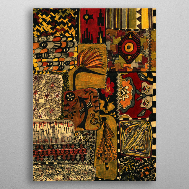High-quality metal wall art meticulously designed by elkexe would bring extraordinary style to your room. Hang it & enjoy. metal poster