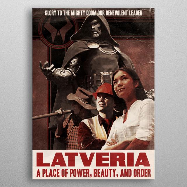 Glory metal poster