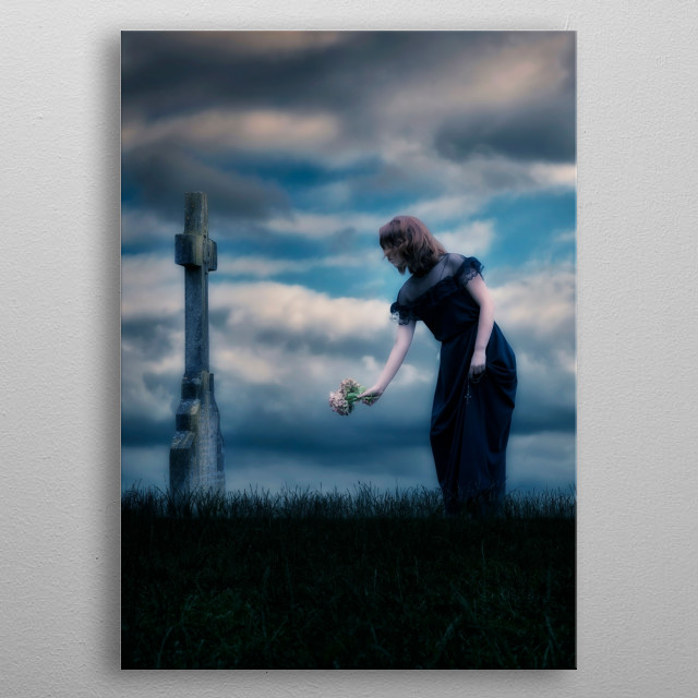mourning metal poster