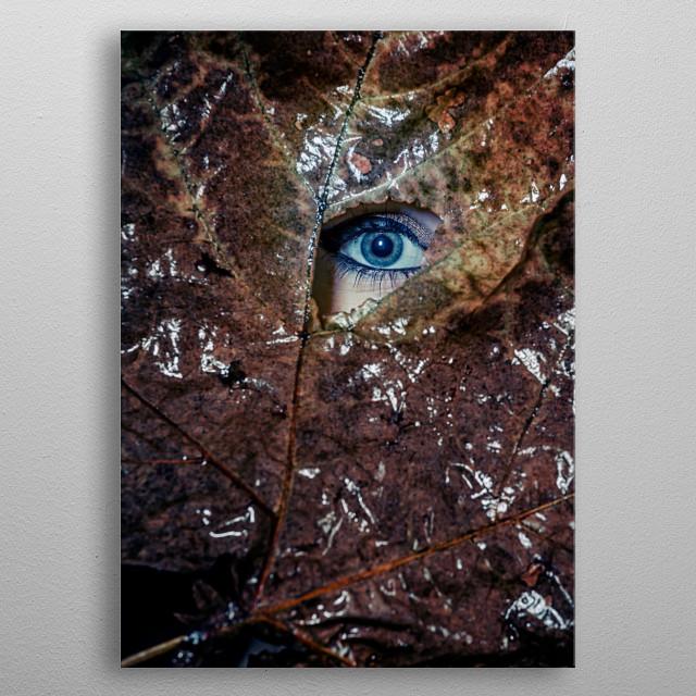 The Eye metal poster