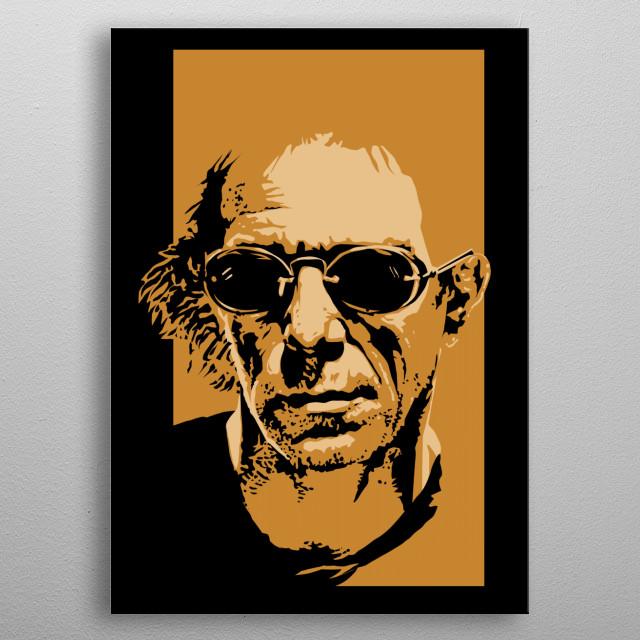 """Lewis Allan """"Lou"""" Reed metal poster"""