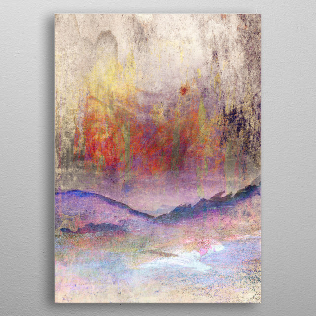 High-quality metal print from amazing Abstracts collection will bring unique style to your space and will show off your personality. metal poster
