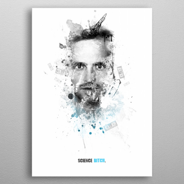 Shadow collection - Jessie Pinkman : Science bitch metal poster