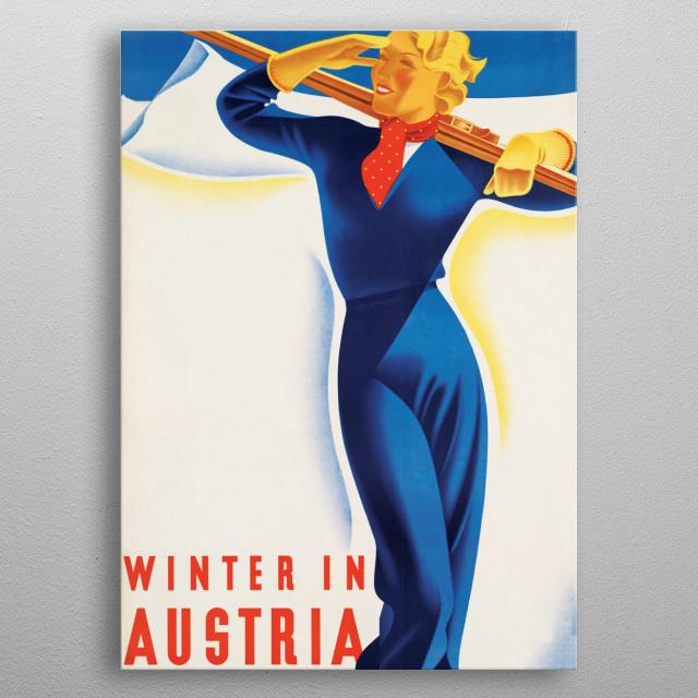 In Austria II metal poster