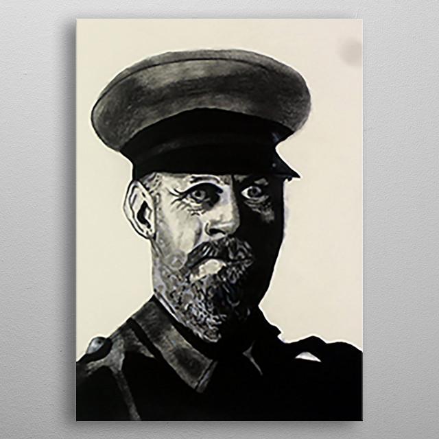 General Colin metal poster