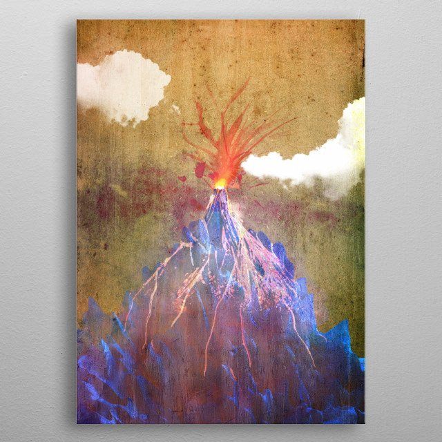 This marvelous metal poster designed by mikath to add authenticity to your place. Display your passion to the whole world. metal poster