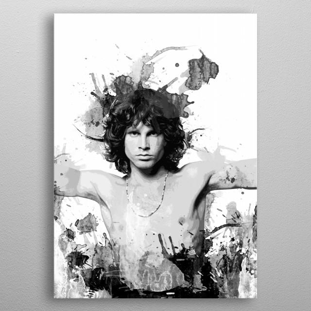 Morrison metal poster
