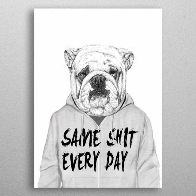 Same shit... metal poster