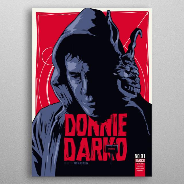 Donnie Darko - Fictive Comic Cover metal poster