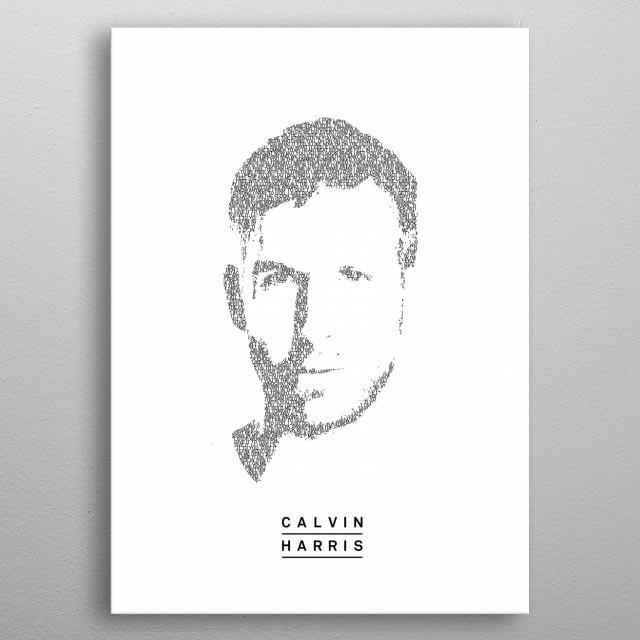 Calvin Harris! The portrait co    by Sjors Van den hout
