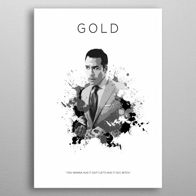 Ari Gold metal poster