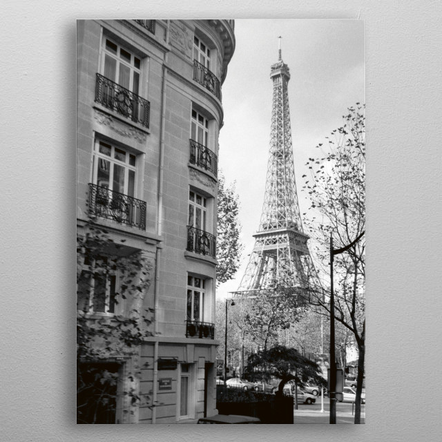Paris NO1 metal poster