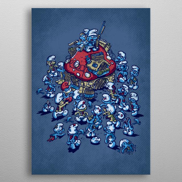 Blue Horde metal poster
