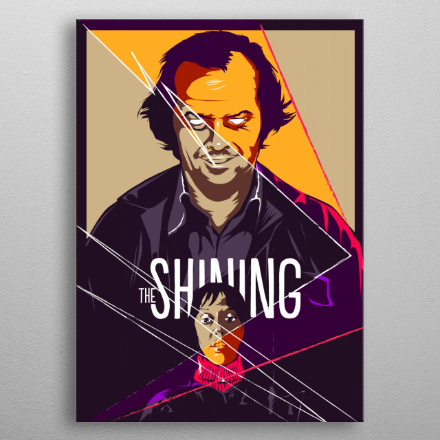 The Shining metal poster
