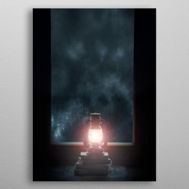 light of my life metal poster