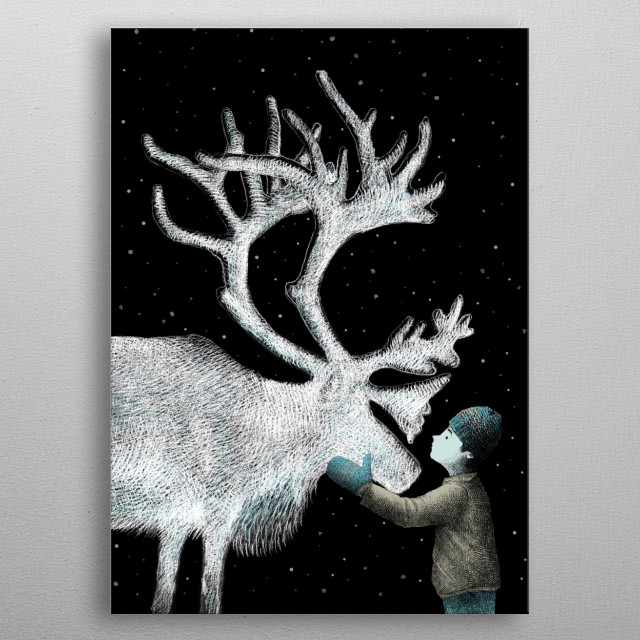The Ice Garden metal poster