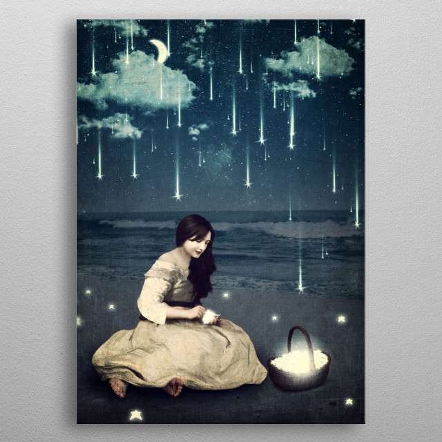 High-quality metal print from amazing Dreams collection will bring unique style to your space and will show off your personality. metal poster