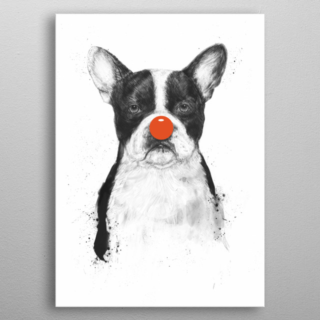 High-quality metal print from amazing Animal Portraits collection will bring unique style to your space and will show off your personality. metal poster