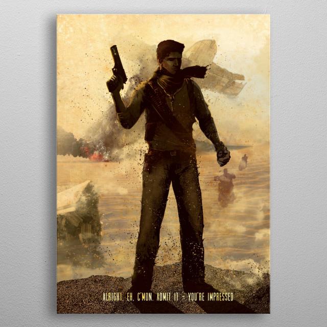 Drake metal poster
