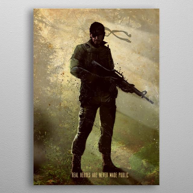 Veteran metal poster