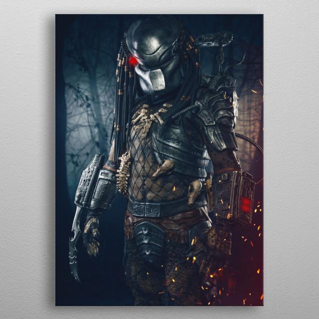 Predator! metal poster
