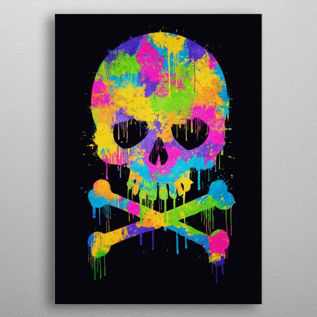 High-quality metal print from amazing Art collection will bring unique style to your space and will show off your personality. metal poster