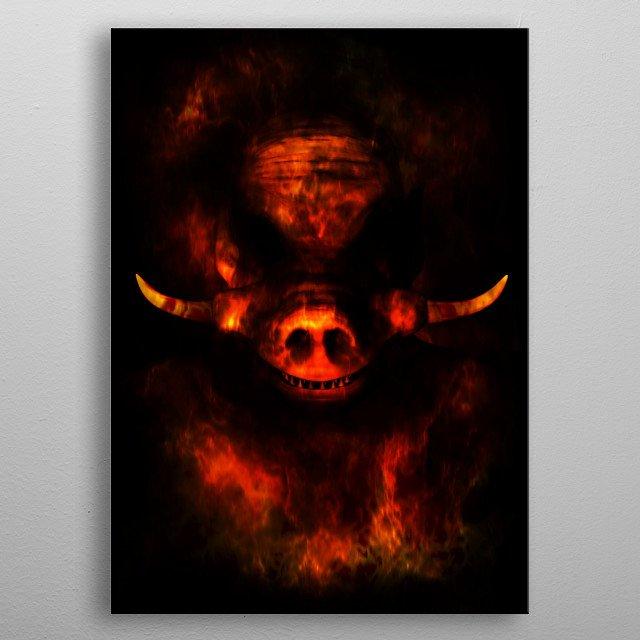The Law is Absolute metal poster