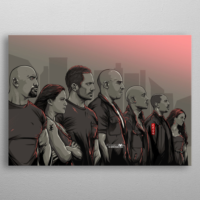 Fascinating metal poster designed by akyanyme dotcom. Displate has a unique signature and hologram on the back to add authenticity to each design. metal poster