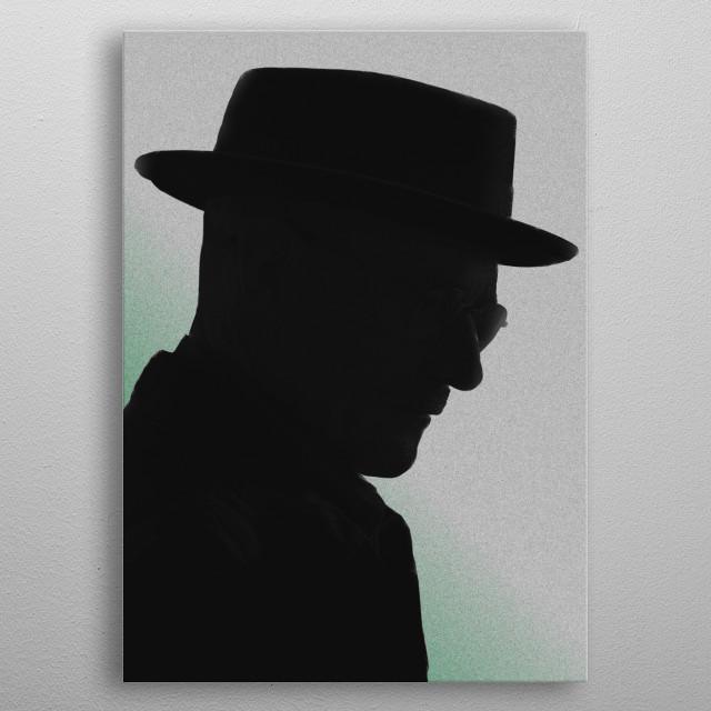 Walter White - Headshots #2 metal poster